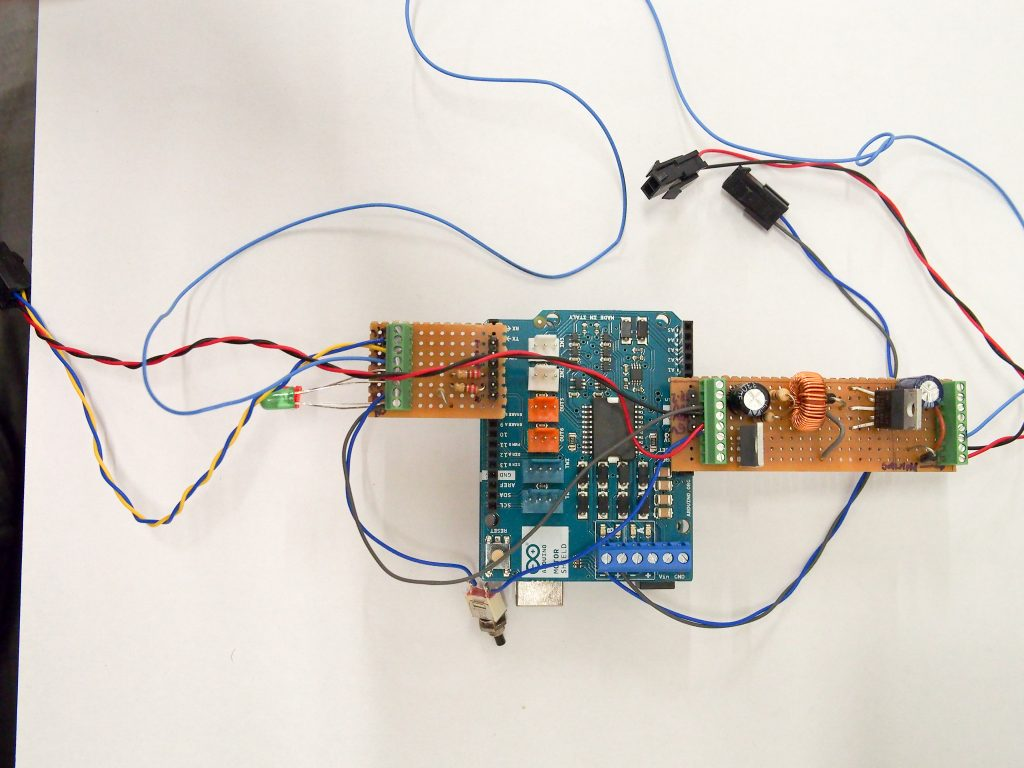 A Solar Powering Station For Arduino Type Yes If You Agree Amp Tag Diy Boost Converter With Mppt Charge Controller Images Frompo Right Hand Side 24v Psu To 72v Motor Dc And Mosfet Driving The Spray Solenoid Valve Left Led Indicators Current